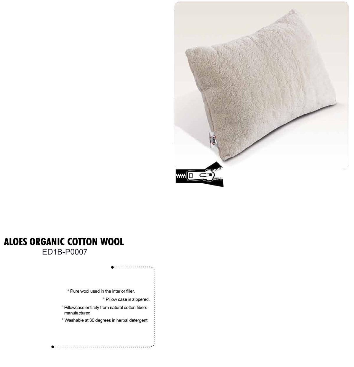 Aloes Organic Cotton Wool