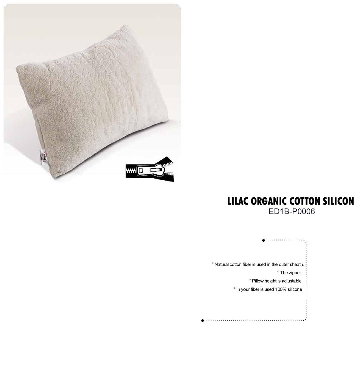 Lilac Organic Cotton Silicon