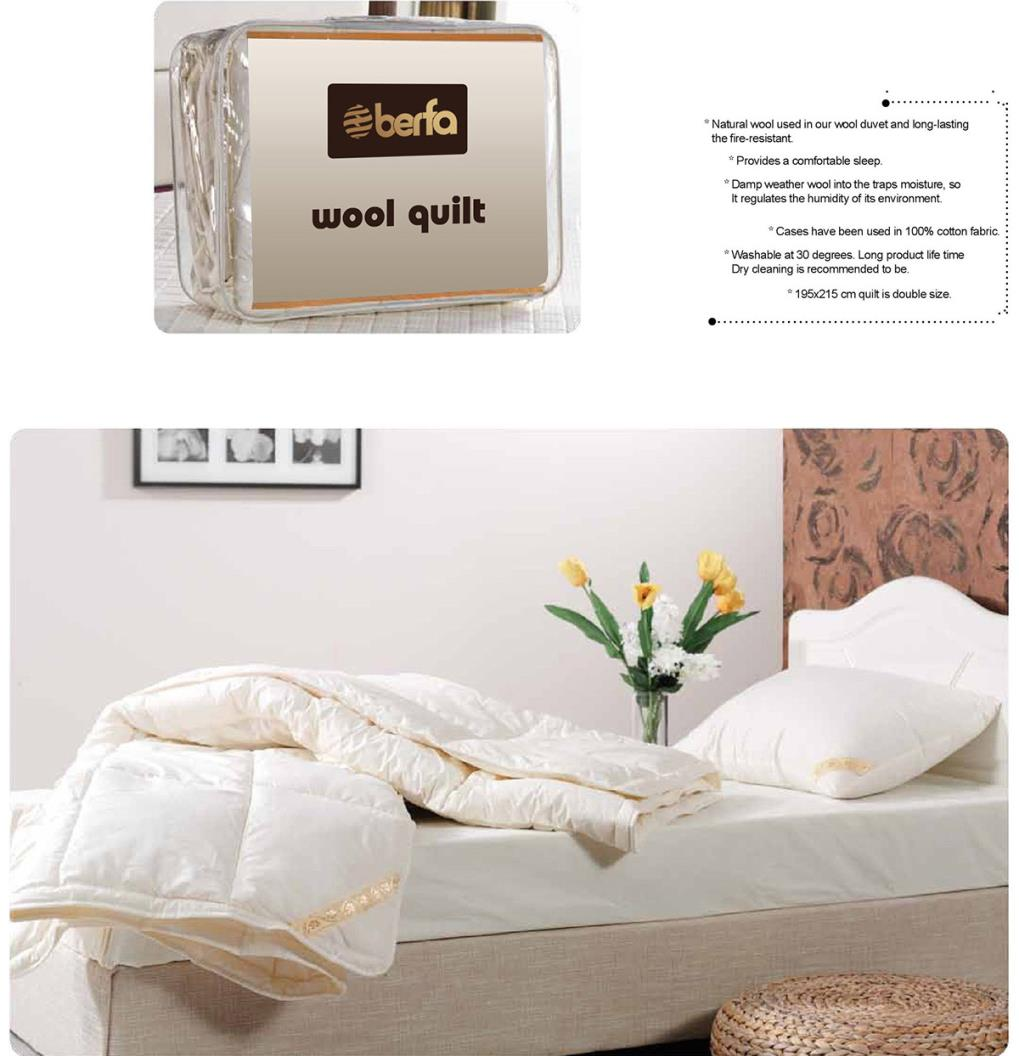 Hazel Wool Quilt Double