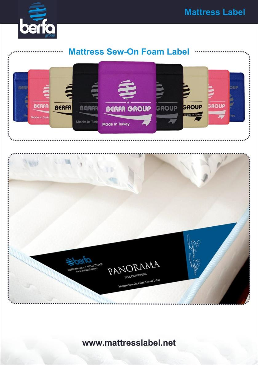 Mattress Label & Mattress Sticker & Bed Label & Bed Sticker